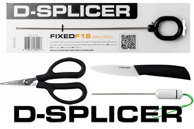 D-Splicer rope splicing tools