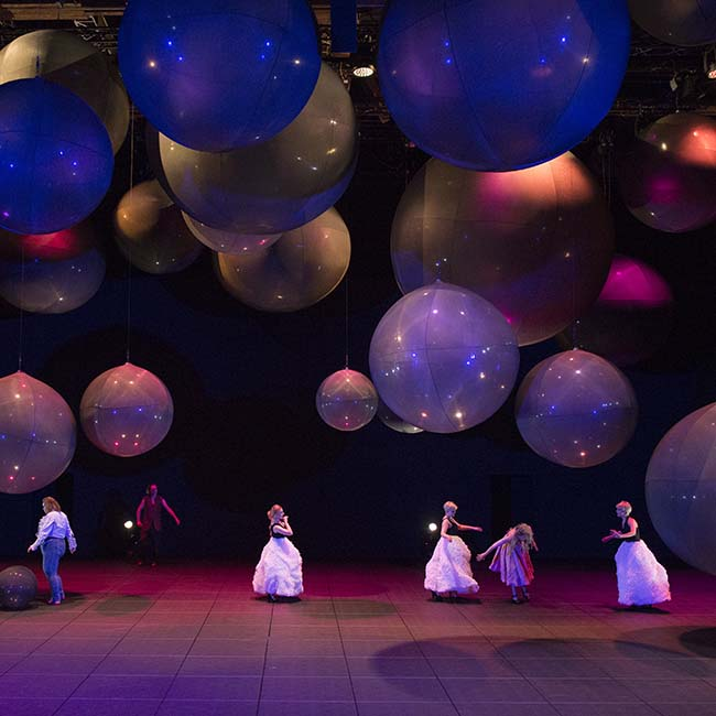 Ropes for theatre: Salzburg festival