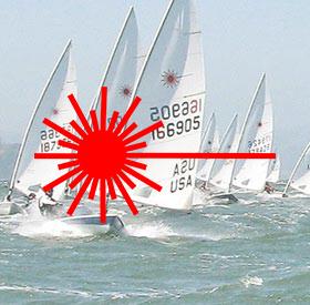 Laser boat ropes