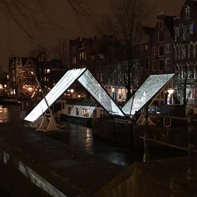 Kunstprojekt - Amsterdam Light Festival