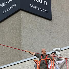 Van Gogh Meile - installation von Premiumropes