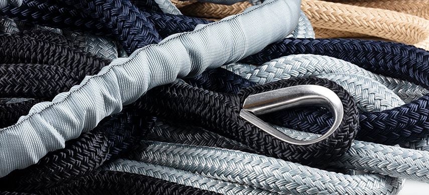 Mooring and anchor ropes  - all sizes